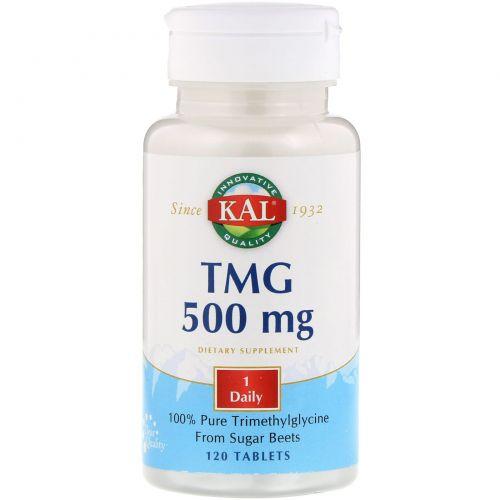 KAL, ТМГ, 500 мг, 120 таблеток
