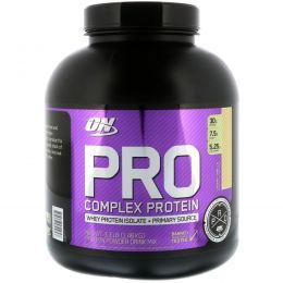 Optimum Nutrition, Pro Complex, изолят и гидролизованные белки, сливочная ваниль, 3,35 фунта (1,52 кг)
