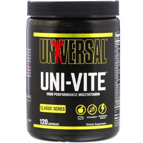 Universal Nutrition, Uni-Vite, 120 Капсул