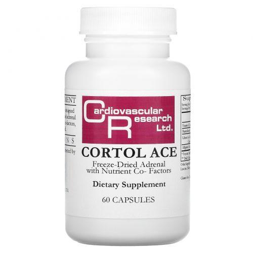 Cardiovascular Research Ltd., Cortol Ace, 60 капсул