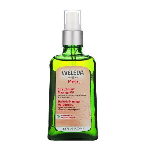 Weleda, Массажное масло от растяжек, 3.4 жидких унций (100 мл)