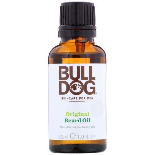 Bulldog Skincare For Men, Оригинальное масло для бороды, 30 мл