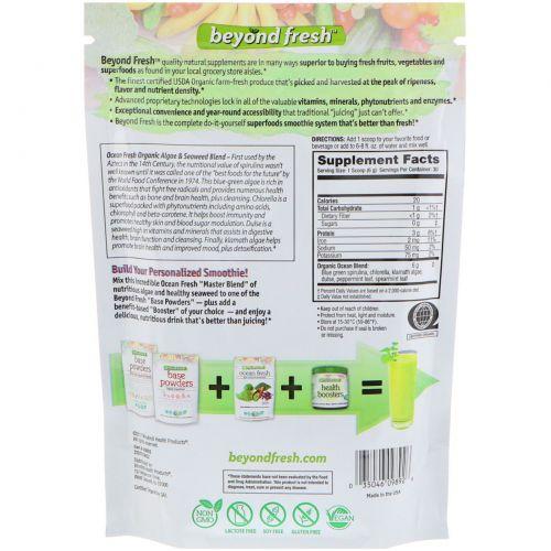 Beyond Fresh, Ocean Fresh, усовершенствованная смесь из органических морских водорослей и морских минералов, натуральный вкус, 6,35 унций (180 г)
