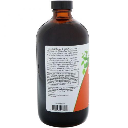 Now Foods, Жидкий экстракт чая Оджибва, 16 унций (473 мл)