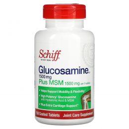 Schiff, Глюкозамин с MSM, 150 таблеток в оболочке