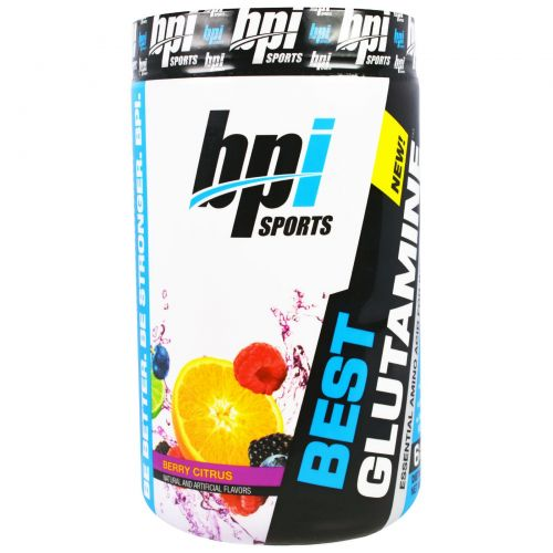BPI Sports, Best Glutamine, ягоды и лимон, 400 г (14,1 унций)
