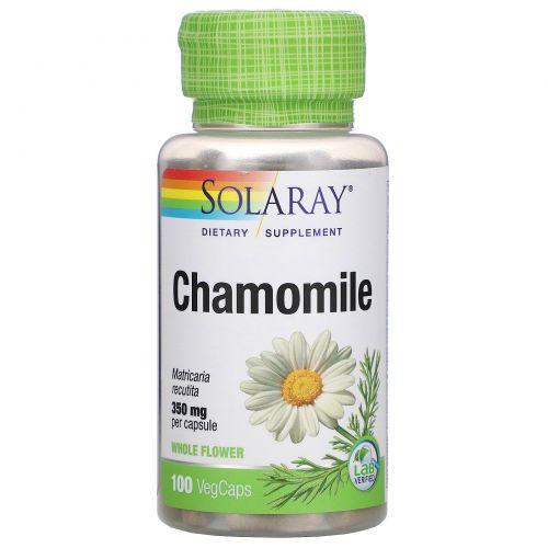 Solaray, Chamomile, 350 mg , 100 VegCaps