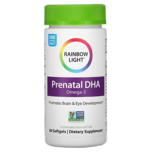 Rainbow Light, Just Once, Супер чистая пренатальная докозагексаеновая кислота, Smart Essentials, 60 мягких таблеток