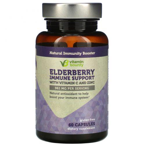 Vitamin Bounty, Elderberry Immune Support, 961 mg, 60 Capsules