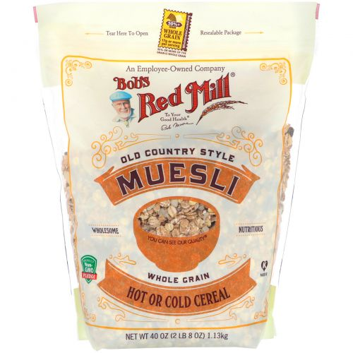 Bob's Red Mill, Old Country Style Muesli, 40 oz (1.13 kg)