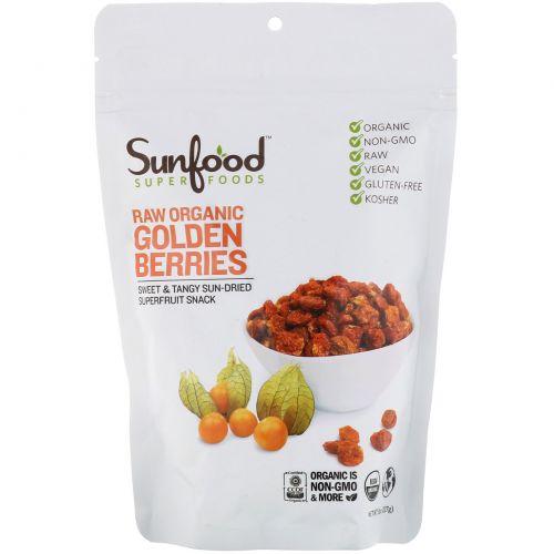 Sunfood, Золотые ягоды инков, 8 унций (227 г)