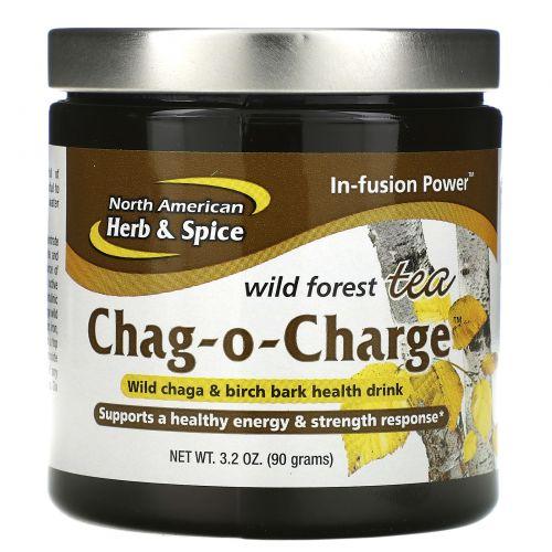 North American Herb & Spice Co., Chag-O-Charge, лесной чай, 3.2 унций (90 г)