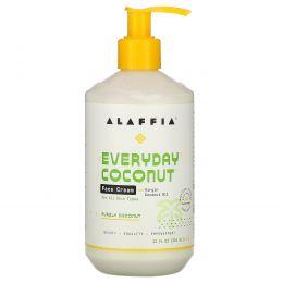 Everyday Coconut, Face Cream, For All Skin Types, Nighttime Replenishing, 12 fl oz (354 ml)