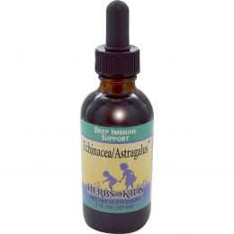 Herbs for Kids, Эхинацея/Астрагал, 2 жидких унции (59 мл)