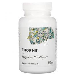 Thorne Research, Цитрамат магния, 90 вегетарианских капсул