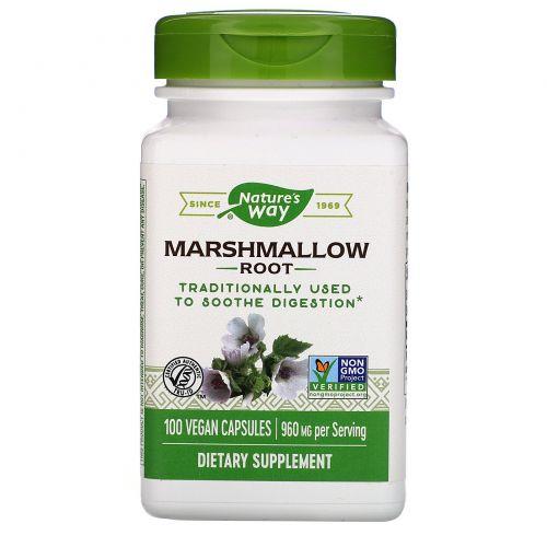 Nature's Way, Корень алтея, 480 мг, 100 капсул в растительной оболочке