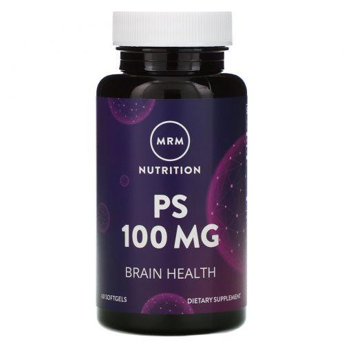 MRM, Фосфатидилсерин, 100 мг, 60 капсул