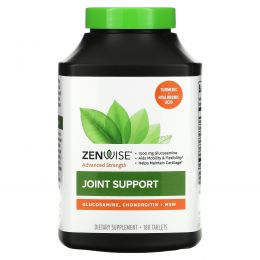 Zenwise Health, Joint Support, Pro-Mobility Formula with Glucosamine, Chondroitin and MSM, 180 Tablets