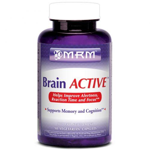 MRM, Brain Active, 90 веганских капсул