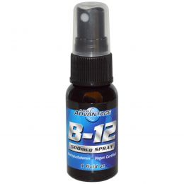 Pure Advantage, B-12, 500 мкг спрея, 1 жидкая унция