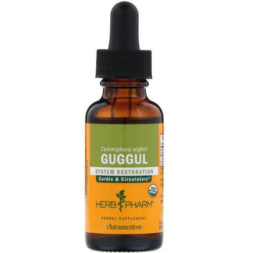 Herb Pharm, Guggul, 1 жидкая унция (30 мл)