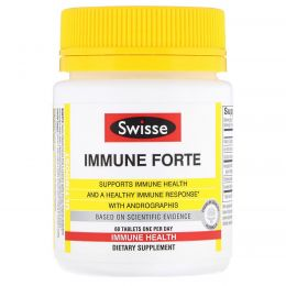 Swisse, Ultiboost, Immune Forte 60 Tablets