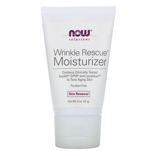 Now Foods, Solutions, увлажняющее средство против морщин, для зрелой кожи, 2 унции (57 г)
