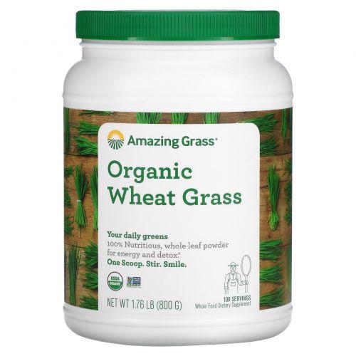 Amazing Grass, Органические ростки пшеницы, 28,2 унций (800 г)