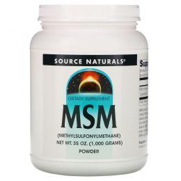 Source Naturals, МСМ в виде порошка, 35 унций (1000 г)