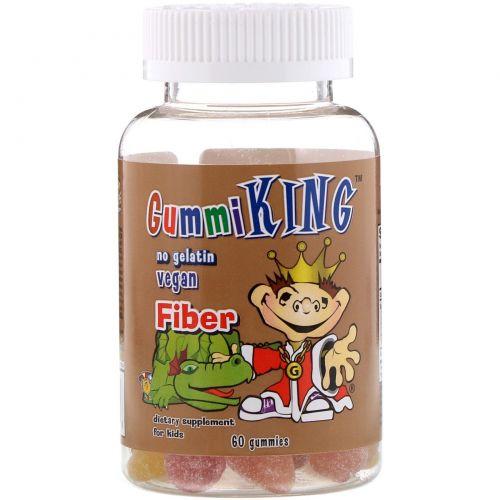 GummiKing, Жевательный мармелад с клетчаткой, 60 мармеладок