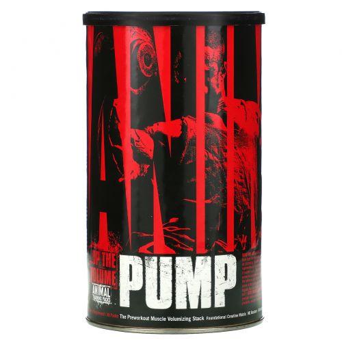 Universal Nutrition, Animal Pump, Добавка для увеличения объема мыш перед тренировкой, 30 пакетиков