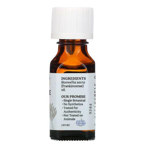Aura Cacia, 100% чистое эфирное масло ладана для медитаций, 0.5 жидкой унции (15 мл)