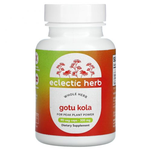 Eclectic Institute, Центелла, 200 мг, 90 капсул на растительной основе