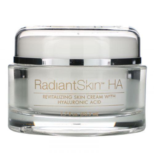 Life Flo Health, Сияющая кожа ХА, восстанавливающий кожу крем с гиалоурановой кислотой, 1,7 жидк. унц. (50,3 мл)