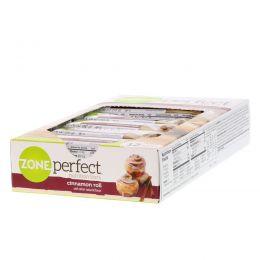 ZonePerfect, Nutrition Bars, Cinnamon Roll, 12 Bars, 1.76 oz (50 g) Each