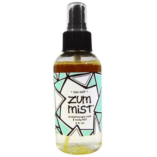 Indigo Wild, Zum Mist, Мист для ароматизации комнаты и для тела, с морской солю 4 жидких унций