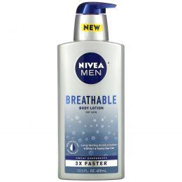 Nivea, Men, Breathable Body Lotion, 13.5 fl oz (400 ml)