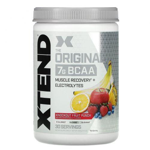 Scivation, Xtend, катализатор для тренировок, фруктовый пунш, 13,9 унции (396 г)