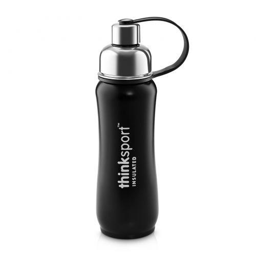 Think, Thinksport, герметичная спортивная емкость, черного цвета, 17 унций (500 мл)