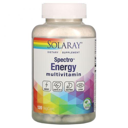 Solaray, Spectro Energy Multivitamin, 120 Veggie Caps