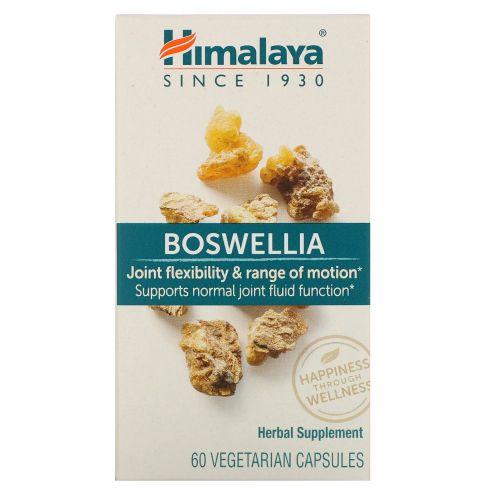 Himalaya, Boswellia, 60 вегетарианских капсул