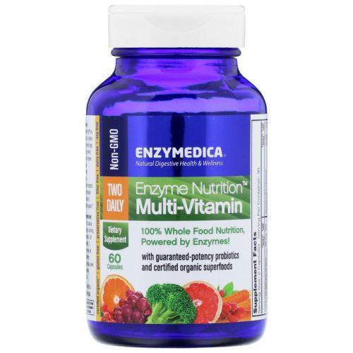 Enzymedica, Мультивитамины Enzyme Nutrition, 60 капсул