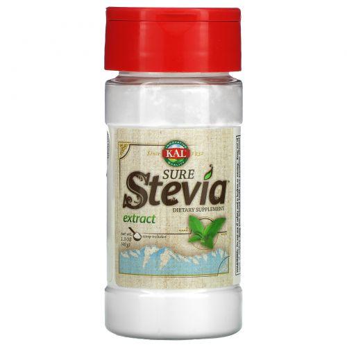 KAL, Чистый экстракт стевии, 1.3 унции(40 г)