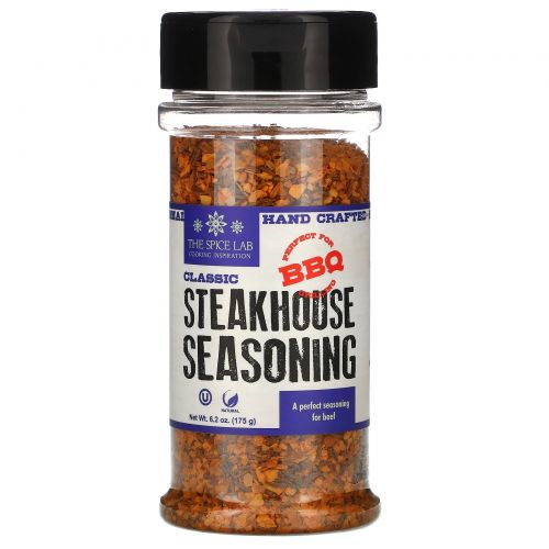 The Spice Lab, Classic Steakhouse Seasoning,  6.2 oz (175 g)