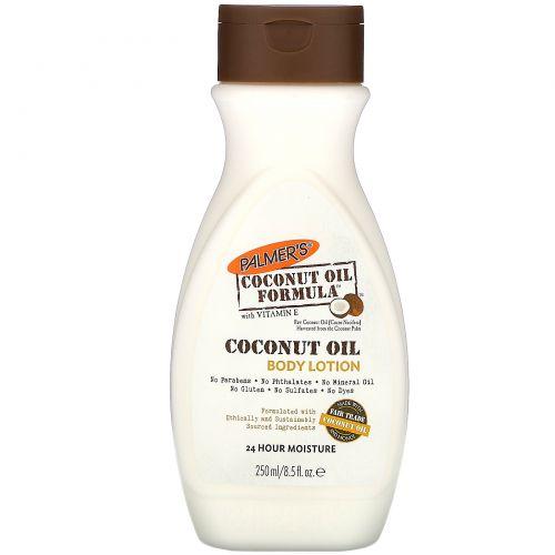 Palmer's, Формула на основе кокосового масла, лосьон для тела, 250 мл