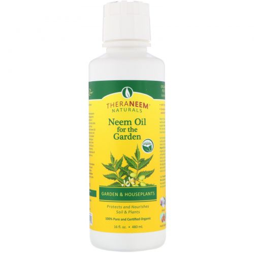 Organix South, TheraNeem Organix, Neem Oil for the Garden, Garden and Houseplants, 16 fl oz (480 ml)