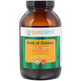 Pure Planet, Органический, Best of Greens, 150 г