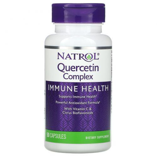 Natrol, Комплекс с кверцетином, 50капсул
