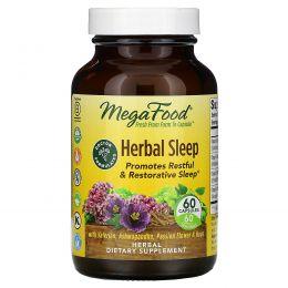 MegaFood, Herbal Sleep, 60 Capsules
