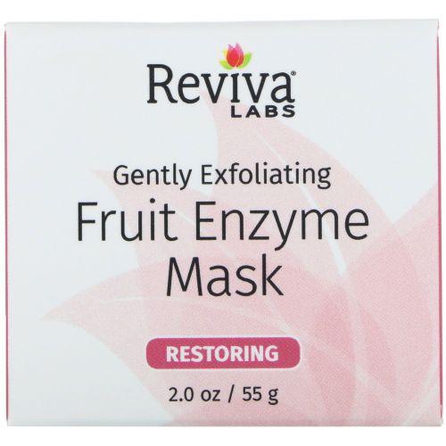 Reviva Labs, Gently Exfoliating, Fruit Enzyme Mask, 2.0 oz (55 g)